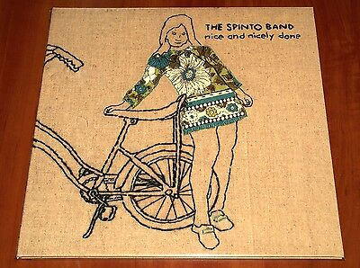 THE SPINTO BAND NICE AND NICELY DONE LP *RARE* VIRGIN PRESS VINYL 2005 LTD