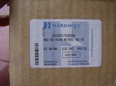 Hardinge Hqc-65 Head Metric Rd Sm .030 Radius 20190017000000 43.48 Mm