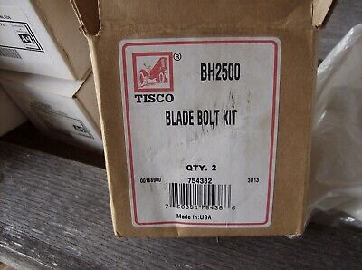 Bh2500 Blade Bolt Kit Bush Hog Rotary Mower 2 Bolts Washers And Nuts