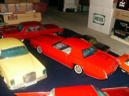 """GIANT Vintage 1967 Cadillac Eldorado Ichiko 28"""" (71 cm) Japan Tin Car GORGEOUS"""
