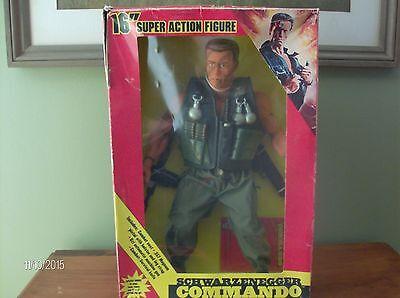 Arnold Schwarzenegger 1986 Commando Action Figure  Predator   Terminator   Conan