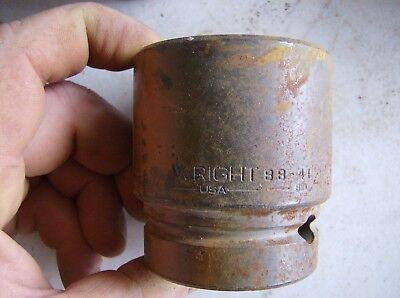 Wright 1 Drive Impact Socket 41 Mm 6 Point 88-41