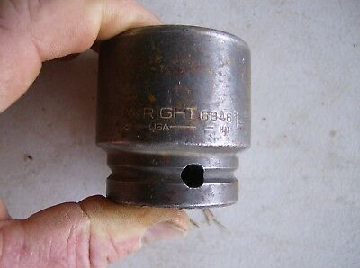 Wright 1 Drive X 1 716 Impact Socket Tools 8846