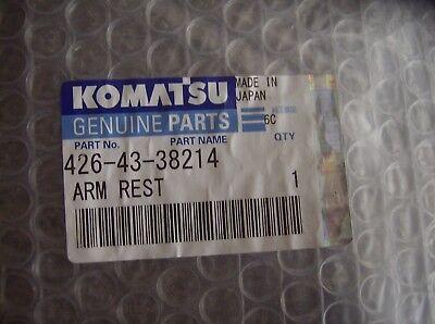 426-43-38214 Komatsu Arm Rest Loaders Dozers