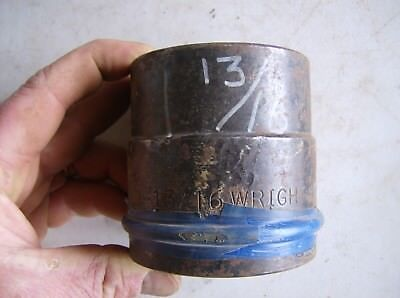 Wright 1 12 Drive Impact Socket 1 316 6 Point Heavy Duty