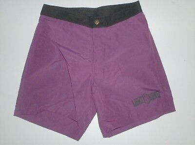 surf trunks shorts vintage lightning bolt purple 1980  new , never used ... 35cm