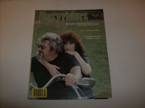 Vintage Easyriders Motorcycle Magazine May 1979 #71 (Adults Only)