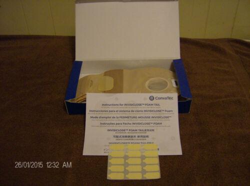 BOX OF 10 CONVATEC DRAINAGE POUCHES REF. #416798  NEW