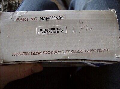 Ag Smart Nanf208-24 Square Flange Bearing Eccentric Locking Collar 1 12 Bore