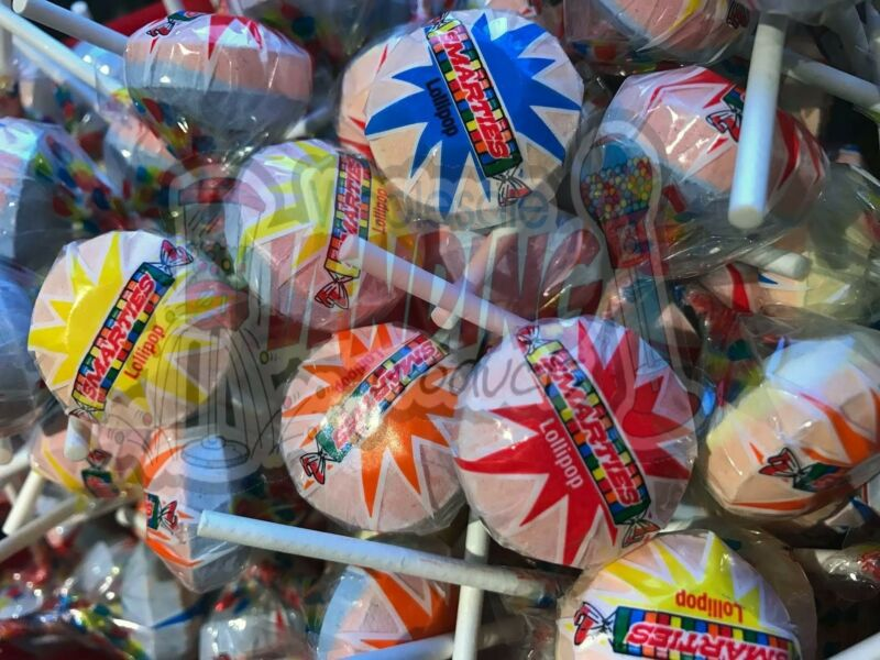 Wrapped Smarties Lollies Pops Double Lollipops *U Choose Weight* By The Lb