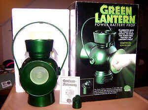 2000 DC Direct Comics #0948 Green Lantern Power Battery Prop Lights Up and Ring