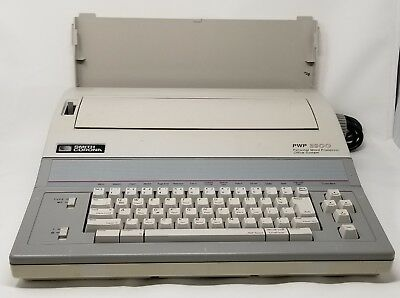 Vintage Smith Corona Electronic Typewriter Word Processor Pwp-3900 - Ships Free