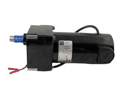 Bodine 32a5bepm-w2 Dc Electric Gear Motor 18 Hp 266 Rpm 130v 9.401 Ratio