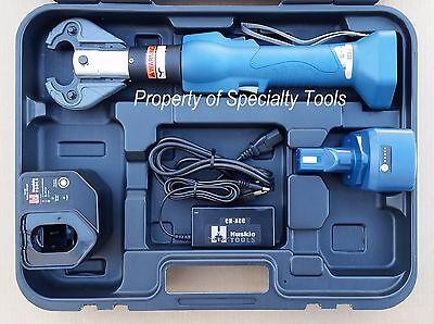 Huskie Eco-eznd Robo Hydraulic Battery Crimper W Die Crimping Tool Burndy 6 Ton