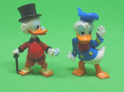 Ü Ei 2 Figur Donald tanzt + Dagobert Duck 1987