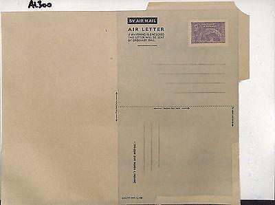 AL300 1950s TRINIDAD Unused KGVI 12c AIR LETTER Postal Stationery