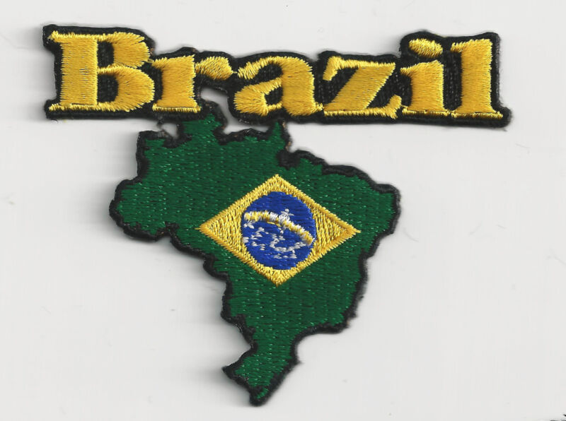 BRAZIL - COUNTRY - IRON-ON PATCH