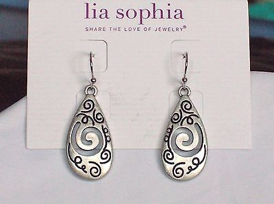 Beautiful Lia Sophia Day Dreamer Dangle Earrings  Nwt