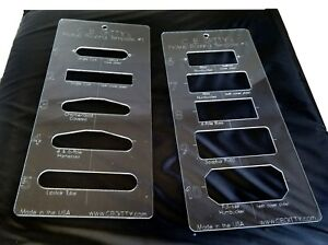 Guitar Routing Template | eBay