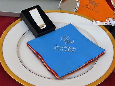 150 Personalized Luncheon Napkins Wedding Favors Custom P...