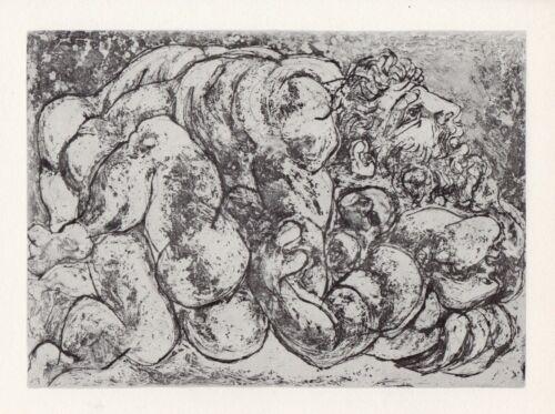 Pablo Picasso, Coupling I (Accouplement I), Vollard Suite
