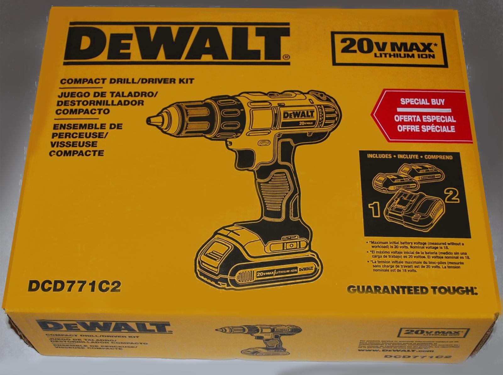 DEWALT 20-Volt Max Lithium-Ion 1/2 in. Cordless Drill/Driver