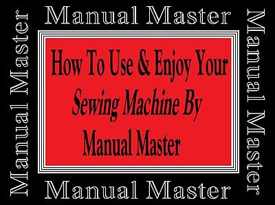 FRIDOR PINNOCK NM6 Stitchmaster Sewing Machine Instruction Manual -