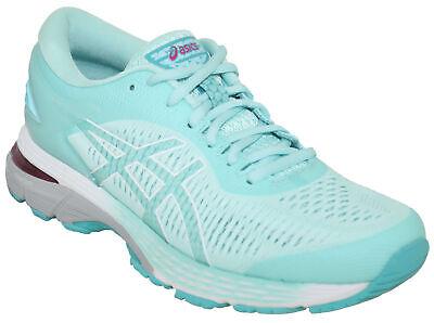 Asics Women's GEL-Kayano 25 Running Shoe Style 402 Icy Morning/Sea Glass