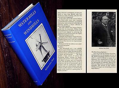Watermills and Windmills Mühlengeschichte Mühlen Müller Windmühlen W. C. Finch