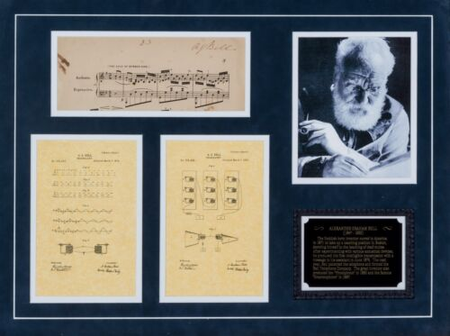 Alexander Graham Bell - Music Sheet Signed - Contains Famous Scottish Song