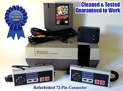 (NES Console + Original Super Mario Bros. Game - BEST PINS - Guaranteed)