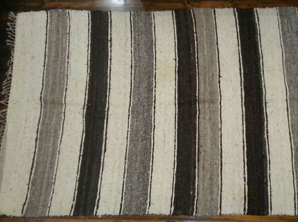 Fair trade coffee and vanilla coloured rug Waverley Eastern Suburbs Preview