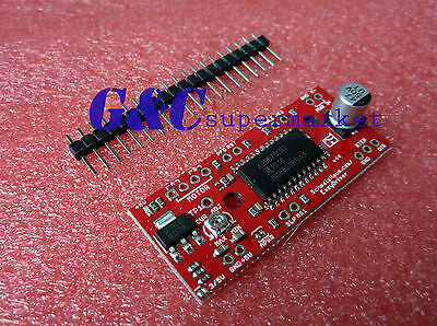 New Easydriver Shield Stepping Stepper Motor Driver V44 A3967 For Arduino