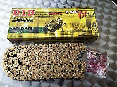 X-Ring Kette DID 530 VX, DID530VX, 50VX, 116 Glieder, CBR 1000 Fireblade, SC59 - Kett Blade Kit
