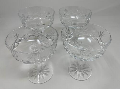 Set of 4 Lenox CHARLESTON Champagne Sherbet Glass 314886