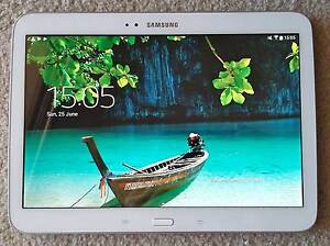 Samsung Galaxy Tab 3 / 10.1 inches in excellent condition + cover Drummoyne Canada Bay Area Preview