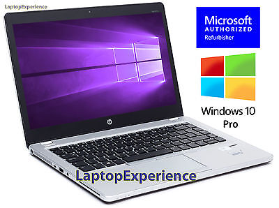 HP LAPTOP 9470m ELITEBOOK FOLIO WINDOWS 10 PRO WIN CORE i5 WEBCAM WiFi 180GB SSD