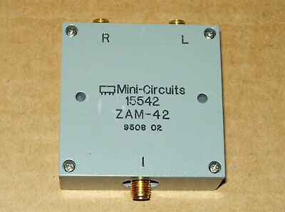 Mini-circuits Zam-42 Frequency Mixer 1.5 To 4.2 Ghz If 0-500 Mhz 7 Dbm Sma