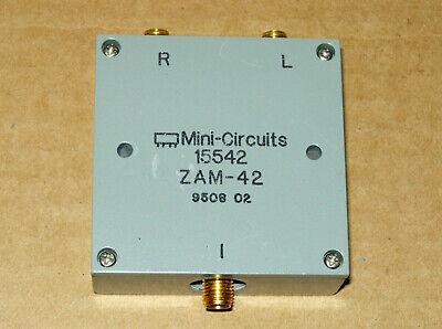 Mini-circuits Zam-42 Frequency Mixer 1.5 To 4.2 Ghz If 0-500 Mhz 7 Dbm Sma