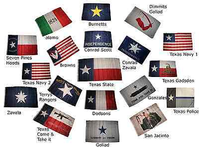 Wholesale Combo Lot of 3x5 Texas Polyester 3x5 2 Flags Banner Set