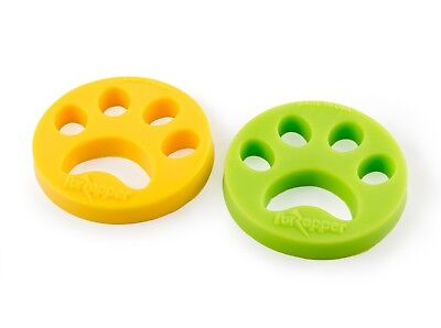FurZapper 2 Pack- Removes Pet Hair - For Washers and Dryers -GOT PET HAIR?
