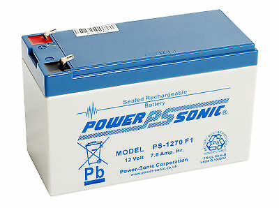 Exide Powersafe EP1229W EP1234W Battery by Powersonic