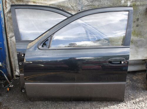 LEXUS GS300 1996 2JZ-GE PASSENGER SIDE FRONT DARK GREEN BLACK BARE DOOR
