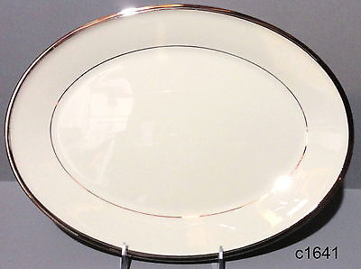 Lenox Solitaire 13  Oval Platter Free Shipping  New Tags Never Used
