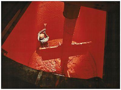 Fotografie,polychrom,BASF,Arbeiter im Farbmischtank,ca.1960