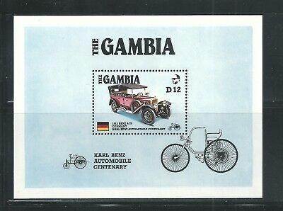 Gambia Scott   628 Mnh S S Karl Benz Automobile Centenary