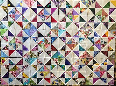 12 Color Collection Eight Point Stars Quilt Blocks 100% Cotton made in USA