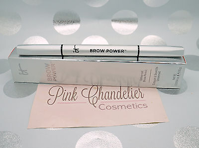 IT Cosmetics Brow Power Eyebrow Universal Taupe Pencil -Fullsize -100% Authentic