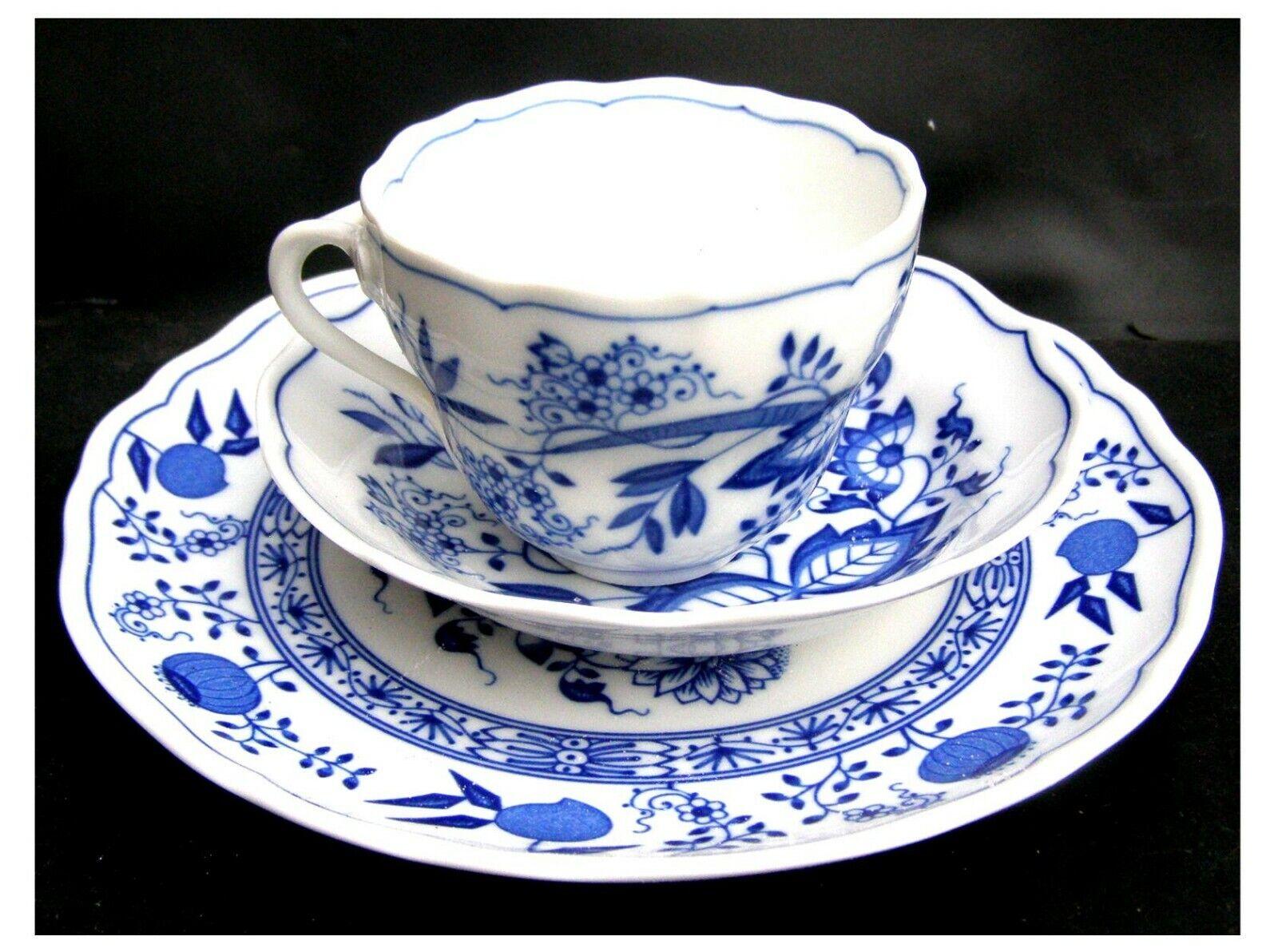 Kaffeebecher Becher Triptis Porzellan Kahla Zwiebelmuster