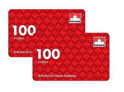 $200 Petro-Canada Gift Cards